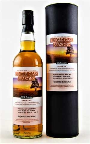 GLENLIVET 2007 SINGLE CASK SEASONS AUTUMN 2018 50,7% VOL SIGNATORY SELECTED BY KIRSCH WHISKY IMPORT