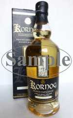 KORNOG PEATED SINGLE MALT WHISKY TAOUARC'H KENTAN 15 BC 46% VOL ORIGINALABFÜLLUNG SAMPLE