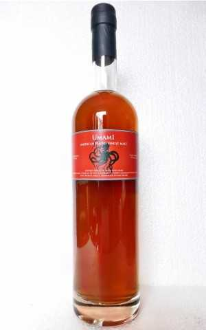 UMAMI HEAVILY PEATED SHERRY SEASONED FRENCH OAK 59% VOL LOST SPIRITS DISTILLERY