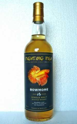 BOWMORE 1996 FIGHTING FISH 43,3% VOL BOTTLED FOR MONNIER TRADING