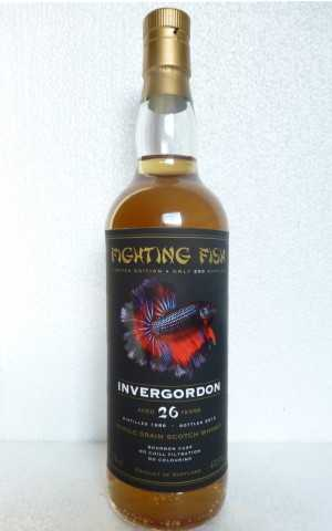 INVERGORDON 1988 FIGHTING FISH BOURBON CASK 47,5% VOL MONNIER TRADING