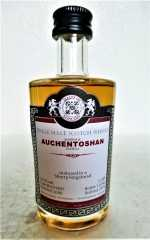 AUCHENTOSHAN 2000 SHERRY HOGSHEAD 54,1% VOL MALTS OF SCOTLAND MINIATUR