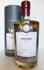 AYRESHIRE 1992 BOURBON HOGSHEAD 53,2% VOL MALTS OF SCOTLAND