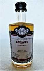 BOWMORE 2000 SHERRY HOGSHEAD 53,8% VOL MALTS OF SCOTLAND MINIATUR