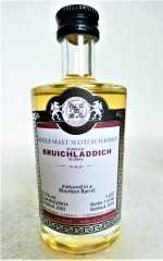 BRUICHLADDICH 2003 BOURBON BARREL 51,7% VOL MALTS OF SCOTLAND MINIATUR