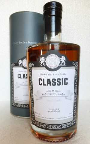 MOS CLASSIC 18 JAHRE 46% VOL MALTS OF SCOTLAND