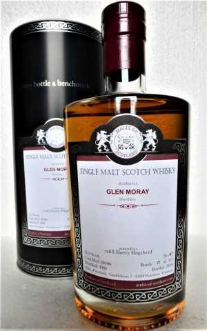 GLEN MORAY 1988 REFILL SHERRY HOGSHEAD 52,5% VOL MALTS OF SCOTLAND