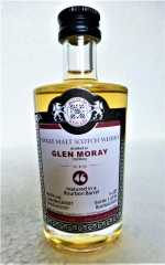 GLEN MORAY 2007 BOURBON BARREL 46% VOL MALTS OF SCOTLAND MINIATUR
