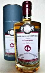 GLEN MORAY 2007 BOURBON BARREL 46% VOL MALTS OF SCOTLAND