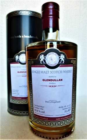 GLENDULLAN 1996 SHERRY HOGSHEAD 50,8% VOL MALTS OF SCOTLAND