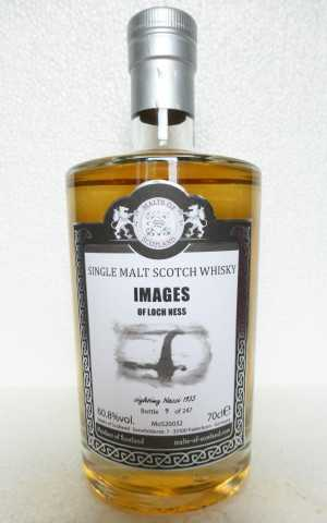 IMAGES OF LOCH NESS SIGHTING NESSI 1933 60,8% VOL MALTS OF SCOTLAND