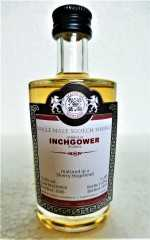INCHGOWER 2006 SHERRY HOGSHEAD 53,8% VOL MALTS OF SCOTLAND MINIATUR