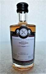 KNOCKANDO 2007 MARSALA RED WINE CASK FINISH 52,1% VOL MALTS OF SCOTLAND MINIATUR
