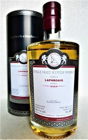 LAPHROAIG 2006 BOURBON BARREL 54,7% VOL MALTS OF SCOTLAND