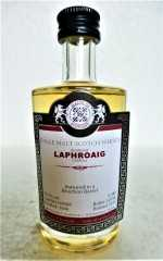LAPHROAIG 2006 BOURBON BARREL 54,7% VOL MALTS OF SCOTLAND MINIATUR