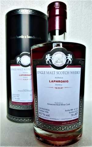 LAPHROAIG 1998 AMARONE RED WINE CASK FINISH 47,7% VOL MALTS OF SCOTLAND