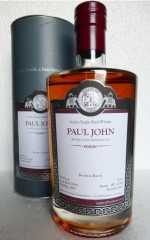 PAUL JOHN 2009 MALTS OF INDIA BOURBON BARREL 58% VOL MALTS OF SCOTLAND