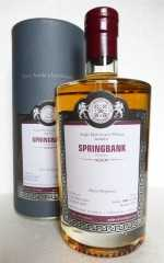 SPRINGBANK 2004 SHERRY HOGSHEAD 51,9% VOL MALTS OF SCOTLAND