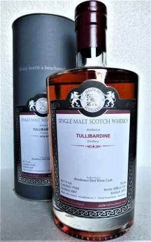 TULLIBARDINE 2007 BORDEAUX RED WINE CASK 64,1% VOL MALTS OF SCOTLAND