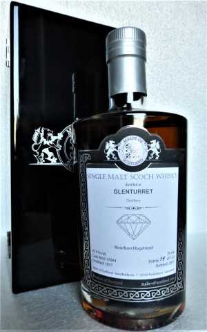 GLENTURRET 1977 BOURBON HOGSHEAD 43,9% VOL MALTS OF SCOTLAND WAREHOUSE DIAMONDS