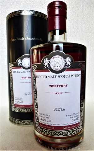 WESTPORT 2005 SHERRY BUTT 54,8% VOL MALTS OF SCOTLAND
