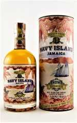 NAVY ISLAND JAMAICA RUM 10 JAHRE SELECT CASK FIRST EDITION HAMPDEN ESTATE 51,2% VOL NAVY ISLAND RUM COMPANY