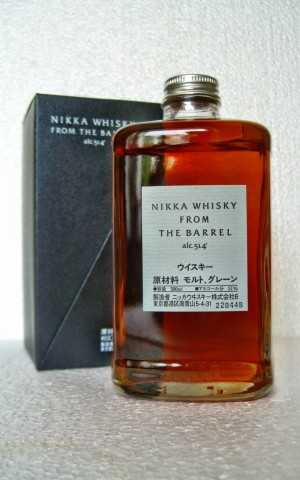 NIKKA WHISKY FROM THE BARREL 51,4% VOL ORIGINALABFÜLLUNG