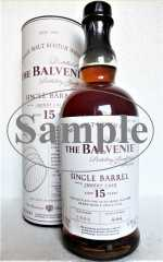 BALVENIE 15 JAHRE SINGLE BARREL SHERRY CASK NO. 2806 47,8% VOL ORIGINALABFÜLLUNG SAMPLE
