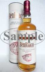 BENRIACH CASK STRENGTH BATCH #1 LIMITED EDITION 57,2% VOL ORIGINALABFÜLLUNG SAMPLE