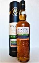GLEN SCOTIA 2005 SINGLE CASK FIRST FILL TAWNY PORT HOGSHEAD HEAVILY PEATED 56,1% VOL ORIGINALABFÜLLUNG