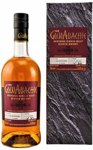 GLENALLACHIE 2008 RIOJA RED WINE BARREL 55,9% VOL EXCLUSIVE FOR GERMANY