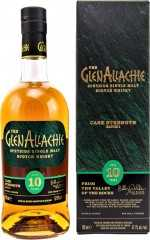 GLENALLACHIE 10 JAHRE CASK STRENGTH BATCH 2 54,8% VOL ORIGINALABFÜLLUNG