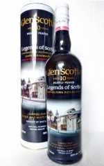 GLEN SCOTIA 10 JAHRE PICTURE HOUSE HEAVILY PEATED  50% VOL ORIGINALABFÜLLUNG