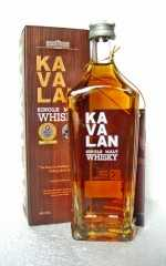 KAVALAN SINGLE MALT WHISKY 40% VOL ORIGINALABFÜLLUNG 200 ML