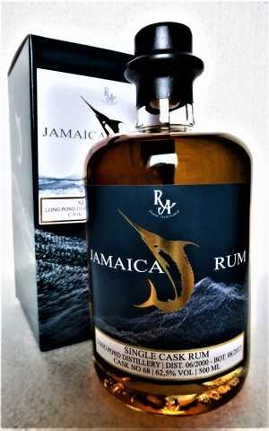 JAMAICA SINGLE CASK RUM 2000 LONG POND DESTILLERIE 17 JAHRE 62,5% VOL RUM ARTESANAL