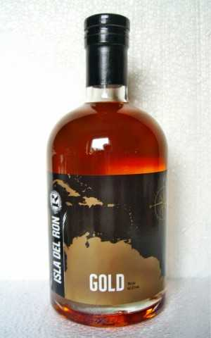 ISLA DEL RON GOLD 42,5% VOL RUM