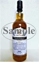 BALLECHIN 2007 FOR GERMANY BORDEAUX CASK 55,7% VOL SIGNATORY SAMPLE