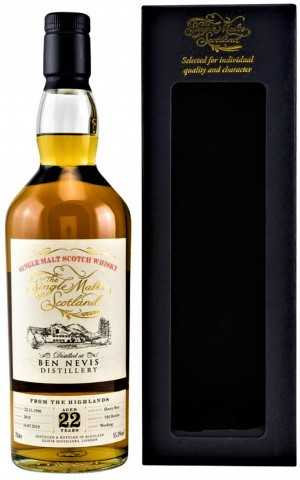 BEN NEVIS 1996 SHERRY BUTT 55,3% VOL THE SINGLE MALTS OF SCOTLAND