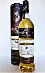 MARGADALE (BUNNAHABHAIN) 2004 BOURBON HOGSHEAD 50% VOL THE MALTMAN