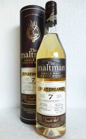 PEAT DREAMS 2009 REFILL HOGSHEAD 55,7% VOL THE MALTMAN EXCLUSIVE FOR GERMANY