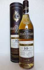 GLEN MORAY 2007 MOSCATEL SHERRY FINISH 57,7% VOL THE MALTMAN