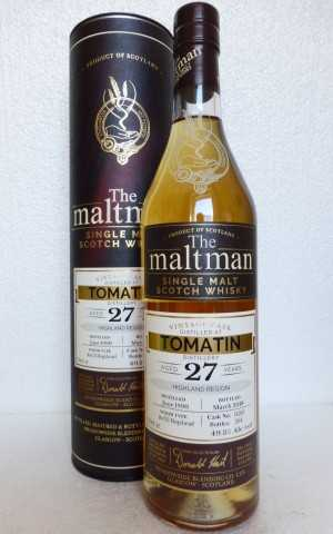 TOMATIN 1990 REFILL HOGSHEAD 49,3% VOL THE MALTMAN