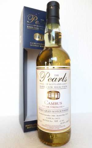 CAMBUS 1988 CASK STRENGTH 47,8% VOL THE PEARLS OF SCOTLAND