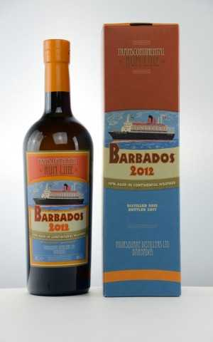 BARBADOS RUM 2012 FOURSQUARE DESTILLERIE 46% VOL TRANSCONTINENTAL RUM LINE