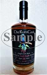 FIJI SINGLE CASK RUM 2001 SOUTH PACIFIC DESTILLERIE 16 JAHRE 57,4% VOL THERUMCASK SAMPLE
