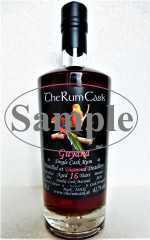 "GUYANA SINGLE CASK RUM 2004 ""BLACK"" DOUBLE CASK MATURED DIAMOND DESTILLERIE 61,7% VOL THERUMCASK SAMPLE"