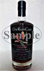 GUYANA SINGLE CASK RUM 1988 ENMORE DESTILLERIE 32 JAHRE 47,9% VOL THERUMCASK SAMPLE