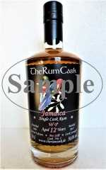 WP 2005 JAMAICA SINGLE CASK RUM 12 JAHRE 56,6% VOL THERUMCASK SAMPLE