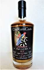 JAMAICA SINGLE CASK RUM 2005 WP DESTILLERIE 12 JAHRE 56,6% VOL THERUMCASK