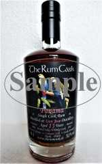 PANAMA SINGLE CASK RUM 2004 PEATED ISLAY WHISKY CASK 58,5% VOL  DON JOSE DESTILLERIE 13 JAHRE THERUMCASK SAMPLE